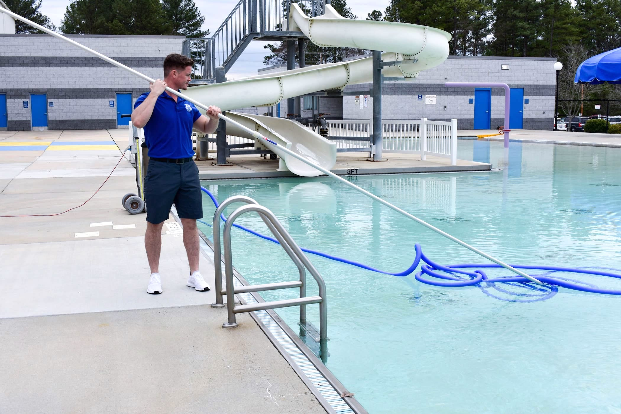 Pool Maintenance - Swim Club Raleigh